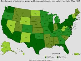 geographic profile for this occupation top addiction counseling salary