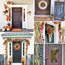 fall front door decorationsfall front door ideas Archives  Mothering with a Purpose