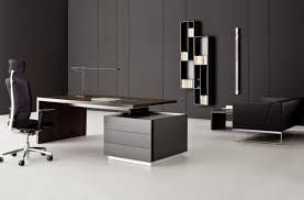 image of nice modern office furniture desk