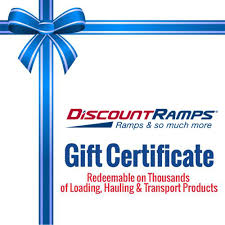 discount ramps gift certificates discount ramps com gift certificates