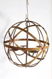 20 wrought iron mystic sphere candle chandelier