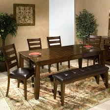 rectangle dining table with bench average audacious dining room tables benches bench od bench table rustic