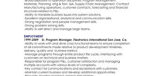 Manager Resume Objective Assistant Operations Technical Account