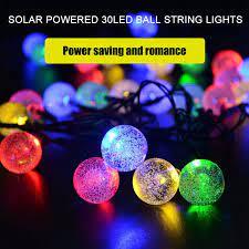 herchr 30 led outdoor string lights