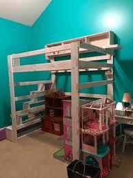 Heavy Duty Solid Wood Loft Bed 1000 Lbs Wt. Capacity