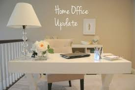 workspace picturesque ikea home office decor inspiration with minimalist white thick laptop desk and chic desk chic office decor