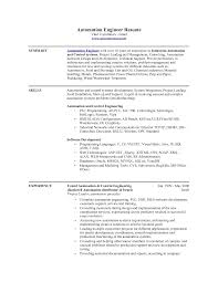 Download Automation Engineer Sample Resume Haadyaooverbayresort Com