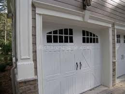 woodcliff lake new home exterior trim design garage carriage house