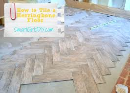 Herringbone Kitchen Floor How To Tile A Herringbone Floor Family Room 10