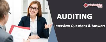 Auditing Interview Questions Answers