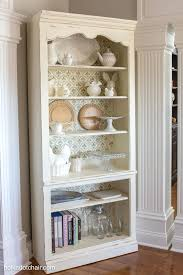 Small Picture Backyards Diy Stenciled Bookcase Giveaway Cute Kitchen For