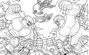 Nice Decoration Lego Hulk Coloring Pages Print Out Superheroes View