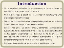 the causes of global warming essay introduction speech  global warming essay