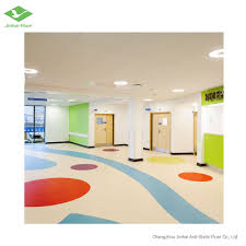 Floorco Design Center Hot Item 2mm Homogeneous Vinyl Flooring School Kids Play Zone Floor Sheet Vinyl