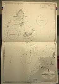 China Sea Navigational Chart Hydrographic Map 2104 Borneo Sarawak Panjang Ebay