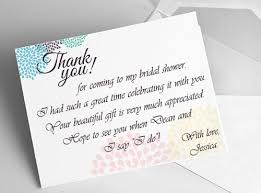 thank you for bridal shower gifts wording gift cards wedding Wedding Shower Gift Cards etiquette and samples bridal shower thank you notes everafterguide wedding shower gift cards to print