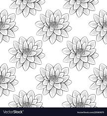 Lotus Pattern Unique Decorating Design