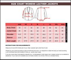 Leather Jacket Size Chart Womens Hooded Fur Real Tan Brown Leather Biker Jacket