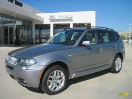 Coupe Series bmw x3 3.0 si : 2007 BMW X3 3.0si in Silver Grey Metallic - F27626 | Jax Sports ...