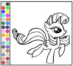 Small Picture Coloring Book Games My Little Pony My little pony coloring pages