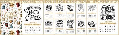November 2020 Calendar Clip Art Calendar For 2020 Lettering Calendar November 2020 Hand