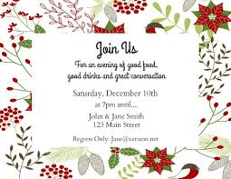Make Your Invitation Make Your Own Holiday Invitations Free Printables