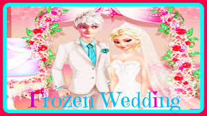 Jack Frost And Elsa Wedding Day Games