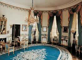 the blue room in the white house washington dc blue room white