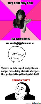 RMX] [RMX] Ps3 Got Red-Ringed by gomeehz - Meme Center via Relatably.com