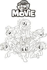 My Little Pony The Movie Coloring Pages Tulostettavia My Little