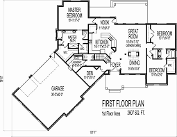 one story house plans under 2000 square feet best of 38 elegant 2500 sq ft open