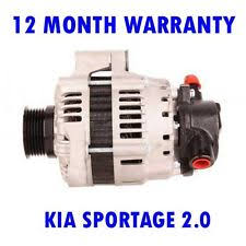 kia sportage electrical components kia sportage 2 0 2004 2005 2006 2007 2008 2009 2010 2015 rmfd alternator