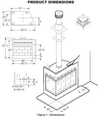 Bi Fold Corner Glass Doors For Wood Burning Corner Fireplace Fireplace  Dimensions