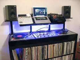 home dj booth amazing post a photo of your setup archive page pertaining to desk setup
