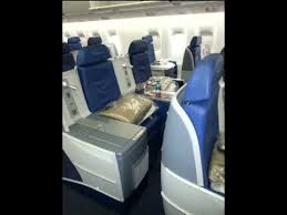 Delta Airlines 767 Seating Chart Delta Airlines 767 300 New Business Class Seat Review Www Deltapoints Com Blog