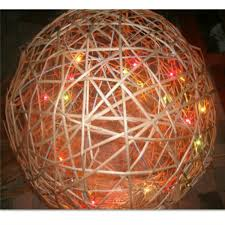Wicker Balls For Decoration Best Beautiful Wicker Ball With Led Light Colorful Buy Wicker Balls