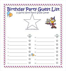 Birthday Guest Book Template Sample Guest Book Template Sample Guest Book Template