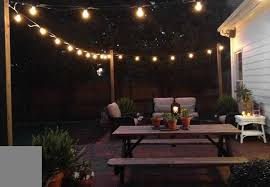 Gorgeous Outdoor Patio String Lighting Ideas Wonderful Outdoor Patio