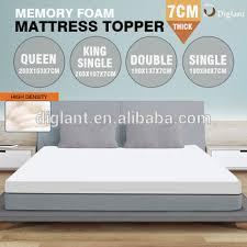 thick mattress topper. 7cm Thick Memory Foam Mattress Topper, Single / Double Queen King Topper E