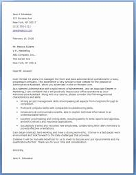 administrative assistant cover letter template cover letter for administrative assistant awesome best executive