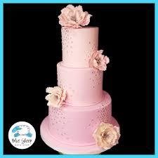 Pink Peony Sweet 16 Birthday Cake Nj Blue Sheep Bake Shop