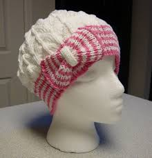 Chemo Cap Crochet Pattern Awesome Kim's Knitting Korner Cutest Hat EVER Bow Tie ClocheChemo Cap