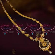 nl9987 ruby red ad white stones handmade simple design delicate south indian jewellery set