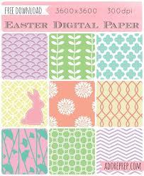 Download Paper Easter Digital Paper Free Download Photoshop