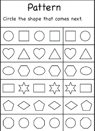 Printable Preschool Kindergarten Shapes Colors Worksheet Worksheets ...