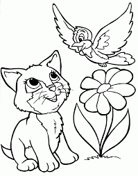 Cats Coloring Pages Siberian Cat Printable For Adults Animal Free Cat Coloring Pages L