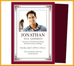 Memorial Announcement Cards Memorial Service Template Free Announcement Cards Sample Of Funeral