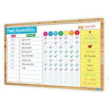 Family Responsibility Office Payment Chart Crafty Charts Magnetic Family Responsibilities Chart