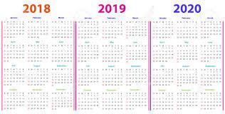 12 Months 2020 Calendar 12 Months Calendar Design 2018 2019 2020 Printable And Editable