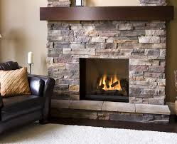 comely decorations using fireplace insert ideas delectable decorating ideas using black leather armchairs and rectangle